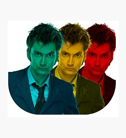 David Tennant colours Photographic Print