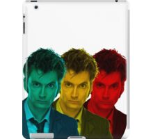 David Tennant colours iPad Case/Skin
