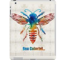 Bee Colorful - Art by Sharon Cummings iPad Case/Skin