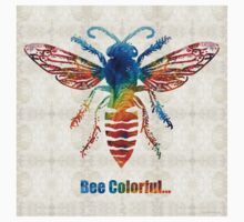 Bee Colorful - Art by Sharon Cummings Kids Clothes