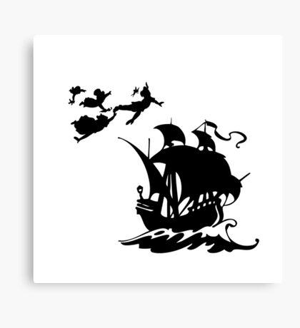 Peter Pan Pirates Canvas Print