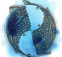 Pisces (blue) by Beatrizxe