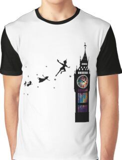 Peter Pan The Second Star Graphic T-Shirt