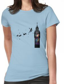 Peter Pan The Second Star Womens Fitted T-Shirt