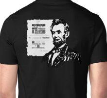 Abe Lincoln Unisex T-Shirt