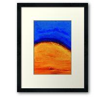 Sky I Framed Print