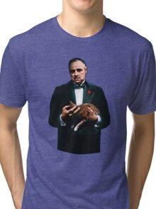 The Godfather's Cat Tri-blend T-Shirt