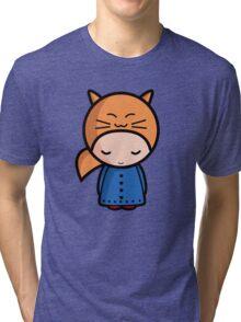 Kawaii girl Sarah Tri-blend T-Shirt