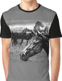 Western Montage  Graphic T-Shirt