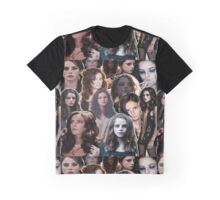Kaya Scodelario - Effy Stonem Collage Graphic T-Shirt