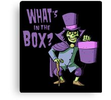 What's in the Box? Canvas Print