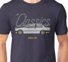 BMW E30 Unisex T-Shirt