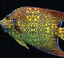 Tropical Fish 12 - Abstract Art By Sharon Cummings by Sharon Cummings