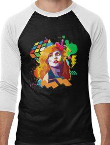 Blondie Pop Art 80's Design Men's Baseball ¾ T-Shirt