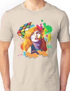 Blondie Pop Art 80's Design Unisex T-Shirt