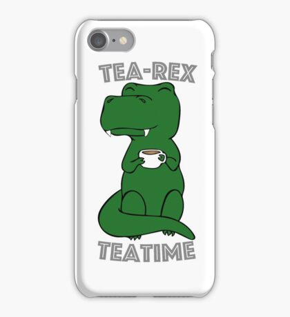 Tea-Rex Teatime iPhone Case/Skin