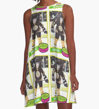Ray Bourque Rookie Card A-Line Dress
