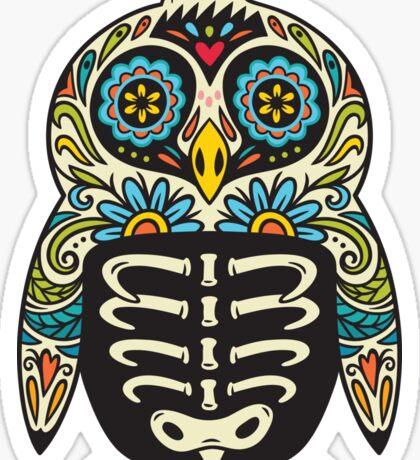 Sugar skull penguin  Sticker