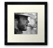 Mr. Eastwood Framed Print