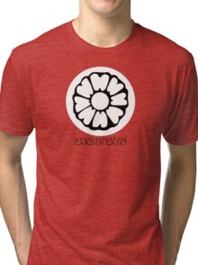 Who Knocks at the Garden Gate? Tri-blend T-Shirt