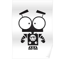 Cute Robot 8 Poster