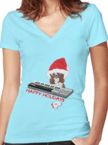 Gizmo Women's Fitted V-Neck T-Shirt