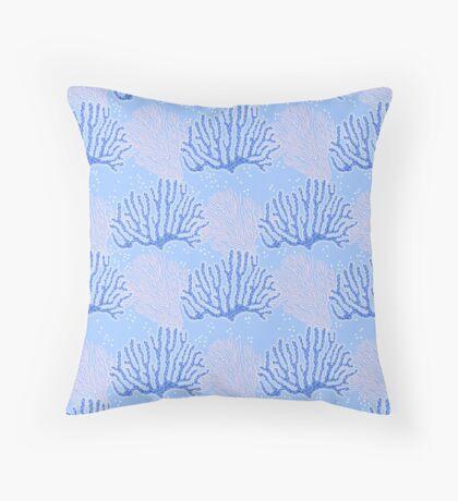 winter ocean dream Throw Pillow