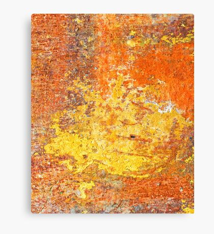 Decayed wall - iPad case by Silvia Ganora Canvas Print