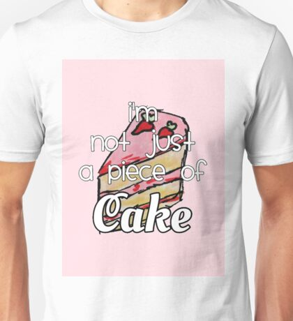cake lyrics Unisex T-Shirt