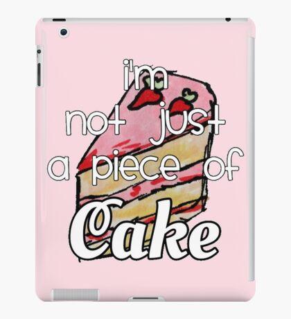 cake lyrics iPad Case/Skin