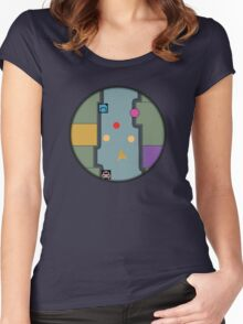 The Minimap Women's Fitted Scoop T-Shirt
