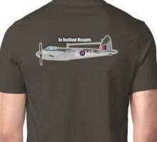 Mosquito, De Havilland Mosquito, RAF, WWII, Fighter, Bomber, Wold War II, British, multi-role, combat, aircraft Unisex T-Shirt