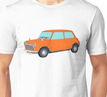 Orange Mini Cooper Unisex T-Shirt
