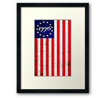 1776 Patriot  Framed Print