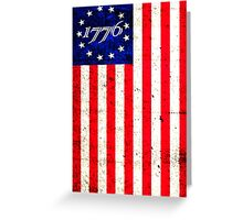 1776 Patriot  Greeting Card