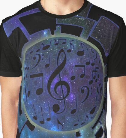 Music Planet Graphic T-Shirt