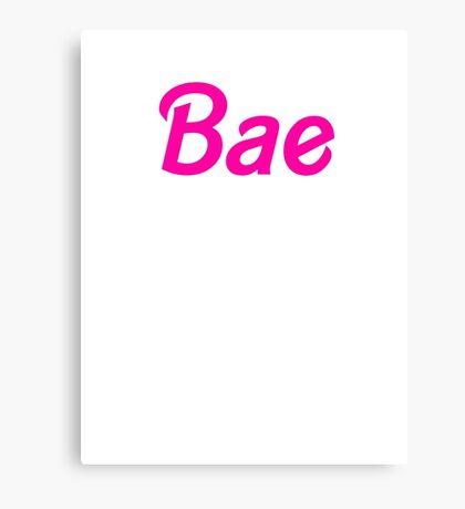 Bae Canvas Print