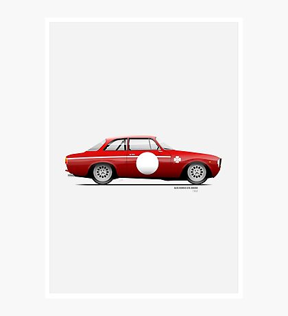 Alfa Romeo 1300 GTA Junior 1968 Photographic Print