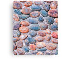 Pebbles - iPad case by Silvia Ganora Canvas Print