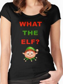 What The Elf Women's Fitted Scoop T-Shirt