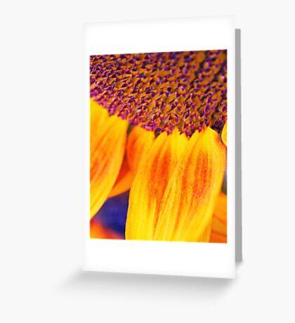 Sunflower III - Ipad case by Silvia Ganora Greeting Card