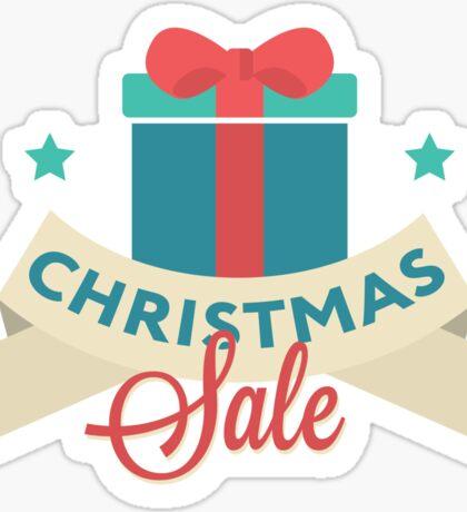 Christmas sale  Sticker