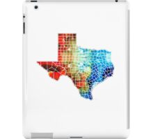 Texas Map - Counties By Sharon Cummings iPad Case/Skin
