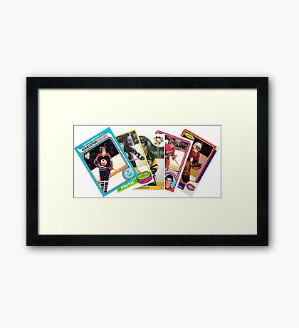 NHL Rookie Lords of the 80s Framed Print
