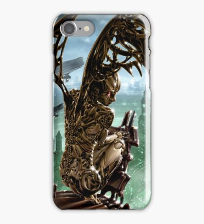 Steampunk Painting 002 iPhone Case/Skin