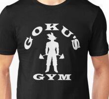 Goku's Gym White Unisex T-Shirt