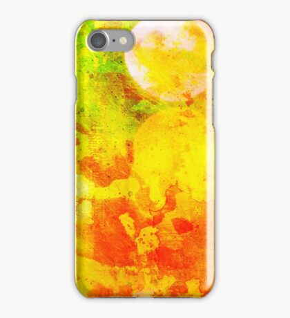 Colorful and smeared iPhone Case/Skin