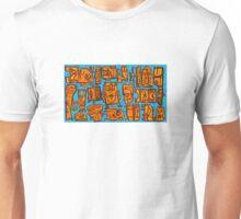 happy robots Unisex T-Shirt