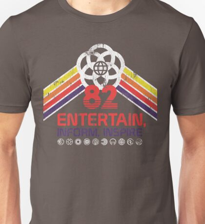 EPCOT Shirt - Distressed Logo - Entertain Inform Inspire Unisex T-Shirt
