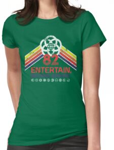 EPCOT Shirt - Distressed Logo - Entertain Inform Inspire Womens Fitted T-Shirt